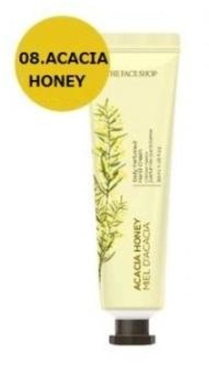 セクションシール公平なTHE FACE SHOP Daily Perfume Hand Cream [08. Acacia honey] ザフェイスショップ デイリーパフュームハンドクリーム [08.アカシアハチミツ] [new] [並行輸入品]