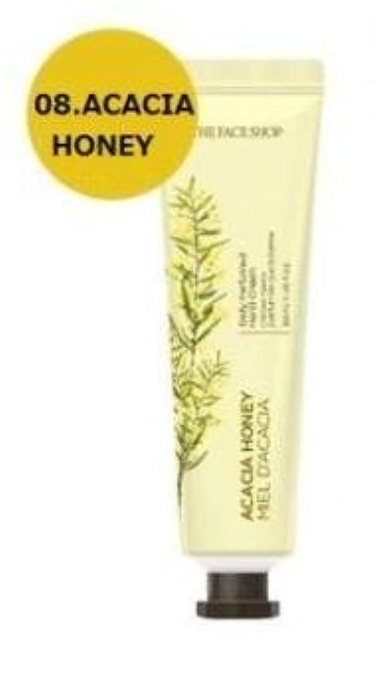 コーン比較的屋内でTHE FACE SHOP Daily Perfume Hand Cream [08. Acacia honey] ザフェイスショップ デイリーパフュームハンドクリーム [08.アカシアハチミツ] [new] [並行輸入品]