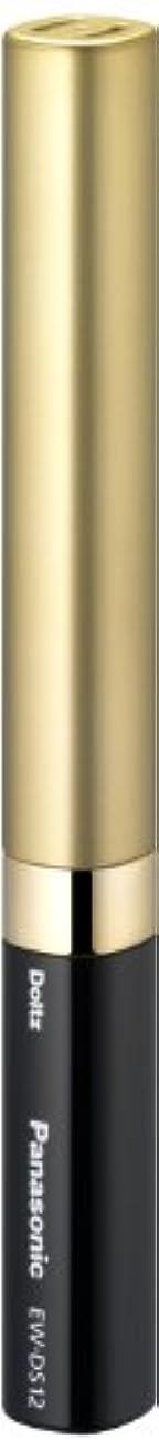 オンス社会科終了しましたパナソニック 音波振動ハブラシ ポケットドルツ 限定色 ブラック&ゴールド EW-DS12-KN