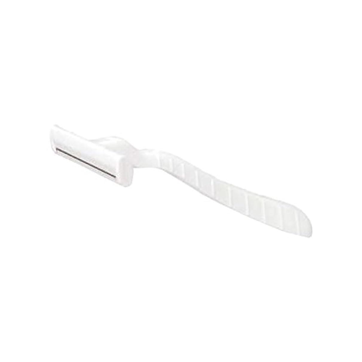 防水日常的にパーティションホテル業務用シックカミソリ1枚刃(白)OP袋入 100本