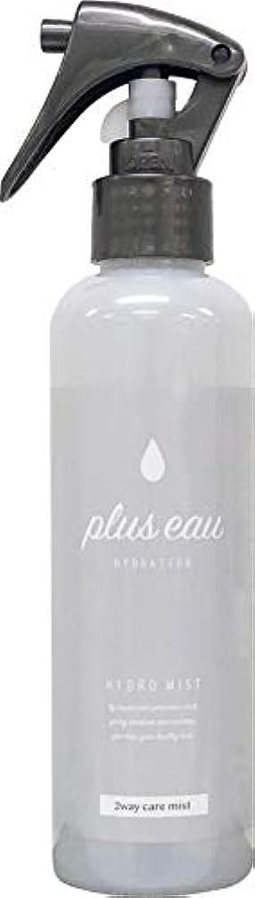 付属品認識発表するplus eau (プリュスオー) ハイドロミスト HYDRO MIST 髪のブースター導入液