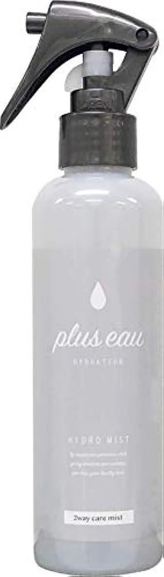 満たす暫定のゴミ箱を空にするplus eau (プリュスオー) ハイドロミスト HYDRO MIST 髪のブースター導入液