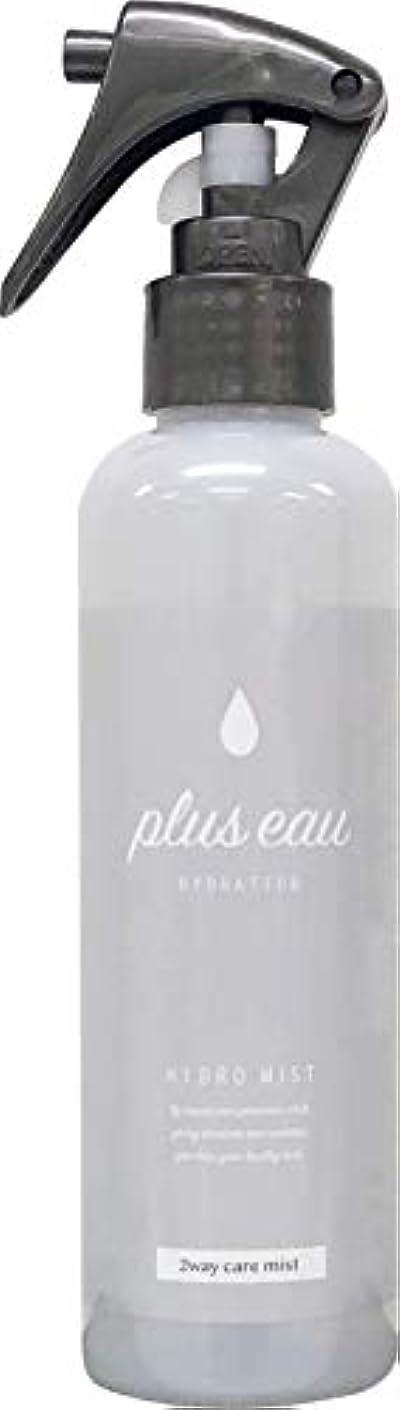 同盟軽減する服を着るplus eau (プリュスオー) ハイドロミスト HYDRO MIST 髪のブースター導入液