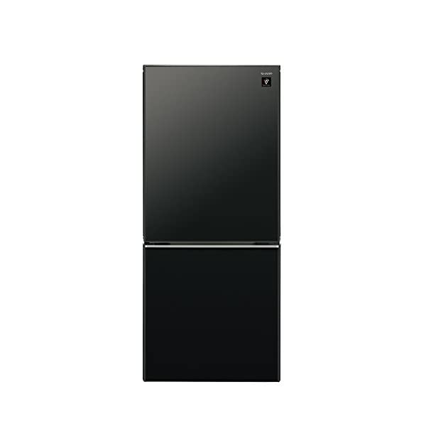 シャープ 冷蔵庫 小型 2ドア 高品位ガラスドア...の商品画像