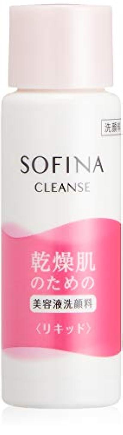 補正紳士気取りの、きざな適応的ソフィーナ 乾燥肌のための美容液洗顔料 <リキッド> トライアルサイズ