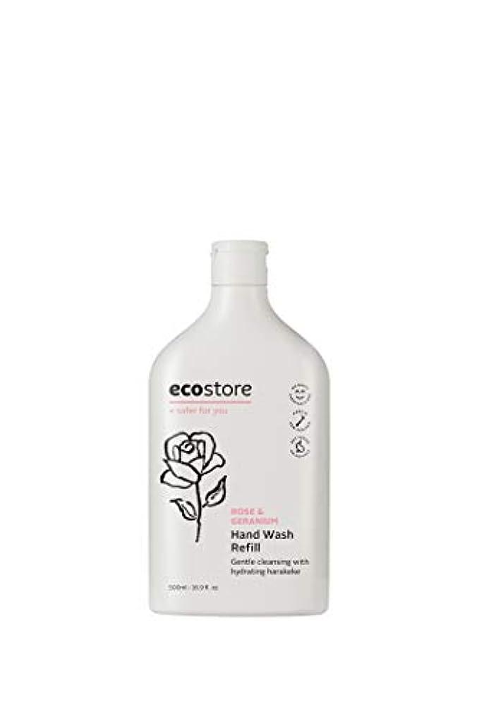 ecostore(エコストア) ハンドウォッシュ 【ローズ&ゼラニウム】 500mL 詰め替え用 液体タイプ