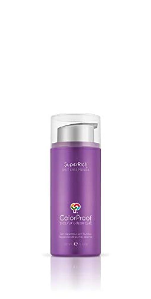 パケットホーンマイルColorProof Evolved Color Care ColorProof色ケア当局SuperRich枝毛修理人、3.4オズ 3.4オンス 紫の