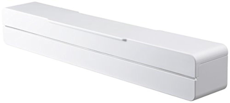 山崎実業 ラップケース マグネット ラップケース 30㎝用 アクア ホワイト 3242