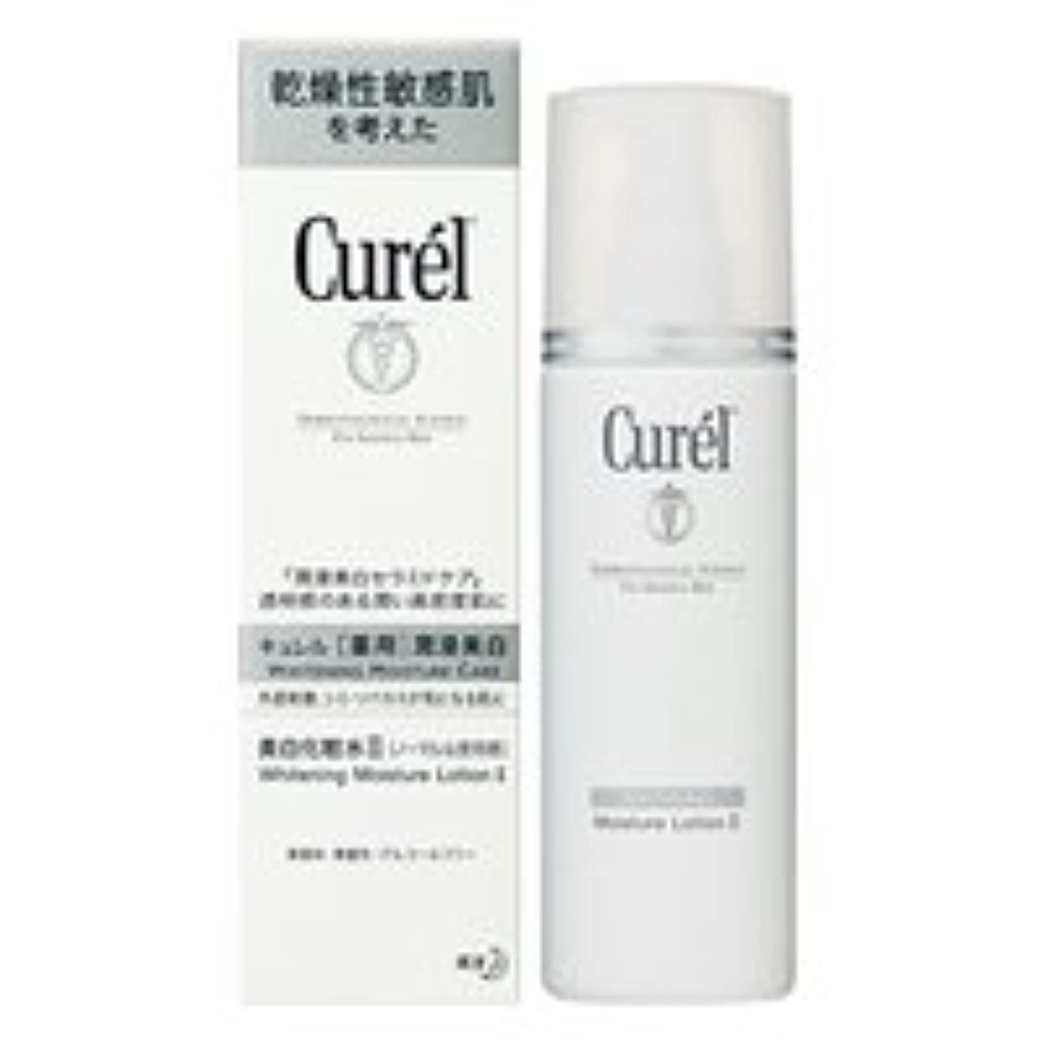 第二に球状ウィザード花王 キュレル美白化粧水2(ノーマルな使用感)