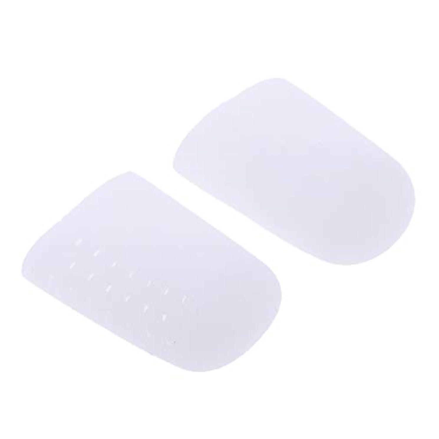 合わせて入場料尊敬するdailymall 足指保護キャップ つま先プロテクター つめ保護キャップ シリコン つま先カバー 滑り止め 全2色 - 白