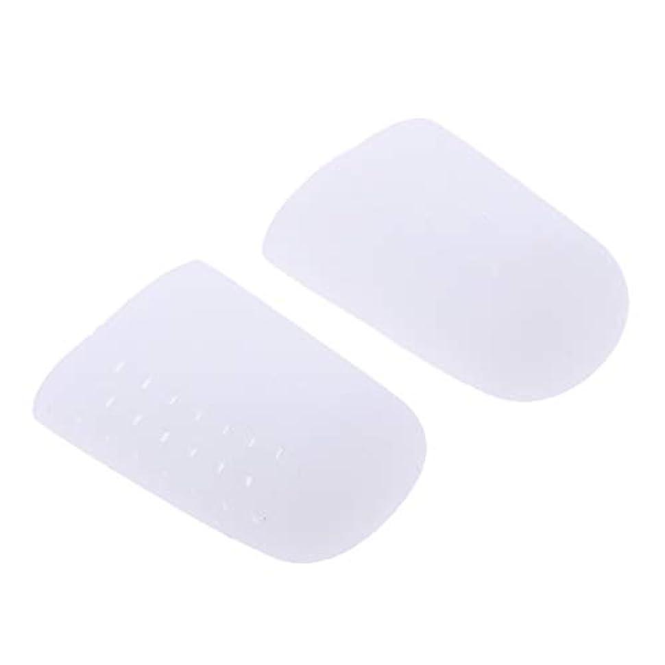 使用法心配持ってるdailymall 足指保護キャップ つま先プロテクター つめ保護キャップ シリコン つま先カバー 滑り止め 全2色 - 白