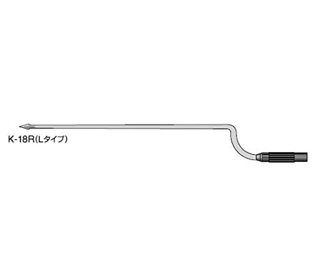 キャップ調停者高尚な鼓膜切開刀 替刃[フェザー] Lタイプ 5本入 K-18R