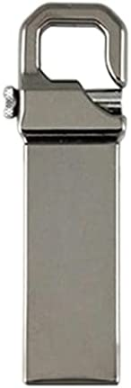 Uディスクステンレススチール USB 3.0高速 USB 3.0フラッシュドライブ2TB外部ストレージメモリースティック32GB-2TBポータブル (Color : Grey)