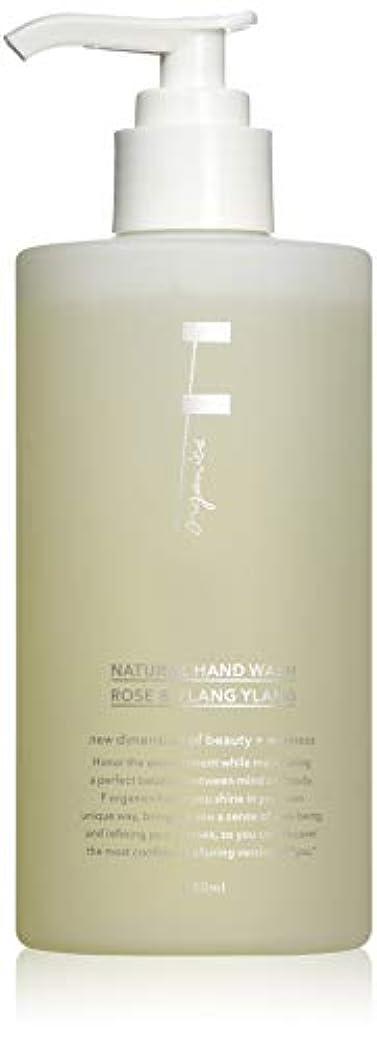 ハング追い越すムスタチオF organics(エッフェオーガニック) ナチュラルハンドウォッシュ ローズ&イランイラン 280ml