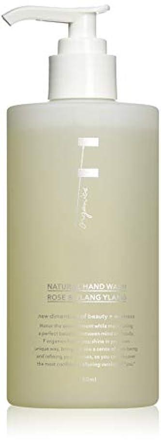 過激派遠い粘り強いF organics(エッフェオーガニック) ナチュラルハンドウォッシュ ローズ&イランイラン 280ml