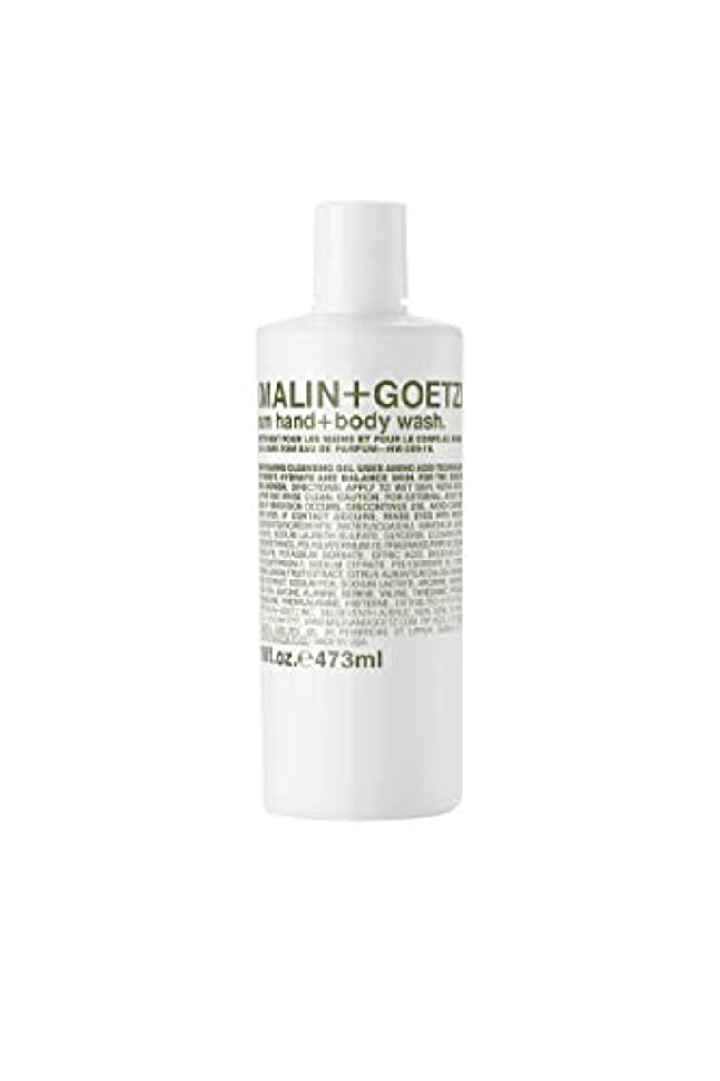 浸食変化する平衡MALIN+GOETZ Rum Body Wash 473ml/16oz並行輸入品
