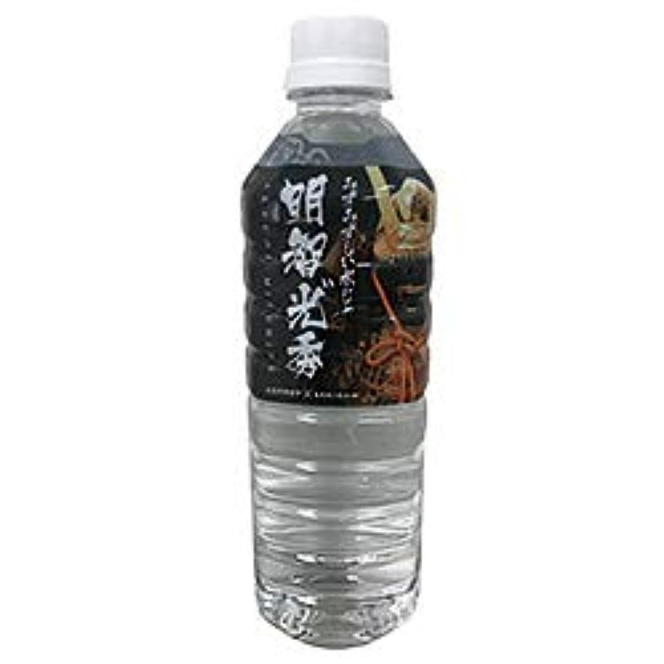 ゲームケント物理的な奥長良川名水 明智光 秀の水 500mlペットボトル×24本入×(2ケース)