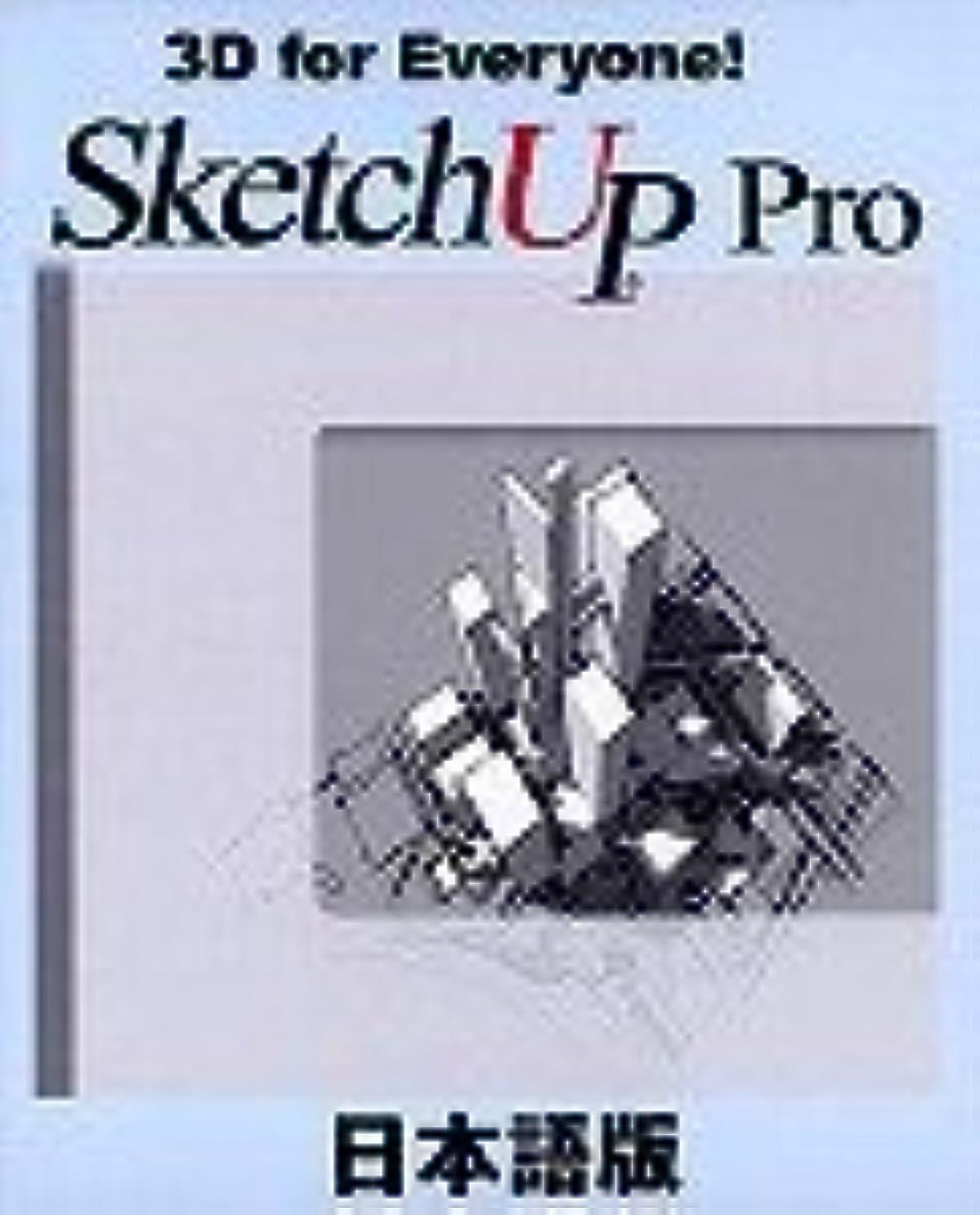 飛行場代数的アクセスできないSketchUp Pro 5 コマーシャル(通常版)Windows