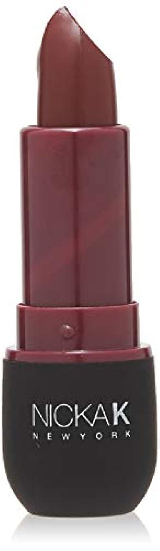 豚肉泥沼ラジエーターNICKA K Vivid Matte Lipstick NMS21 Violet Red (並行輸入品)