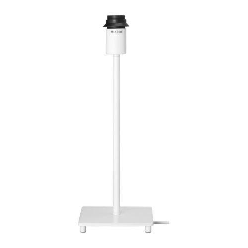 IKEA JANUARIテーブルランプベース(ホワイト/35 cm) (101.568.78)