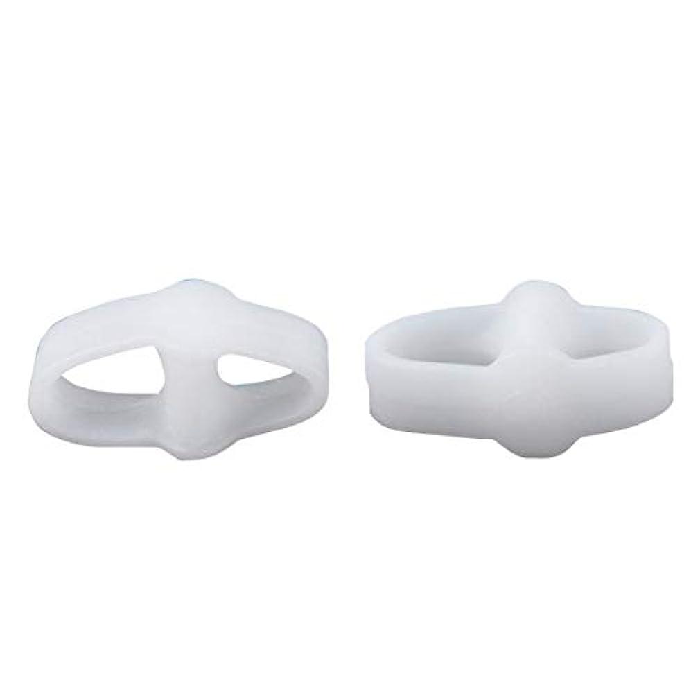 モディッシュつかの間謙虚なDouble Ring Toe Pad Split Toe Overlap Toe Separator Toe Valgus Correction Daily Toe Cover Hallux Valgus