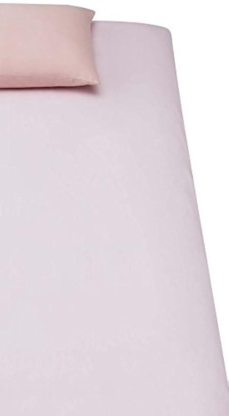 十億不健康強調する【メーカー直販】ワンタッチシーツ 綿ツイル シングルロング 綿100 シーツ 敷き布団用カバー 全周ゴム シングル 105*215+20CM ピンク 安全?安心?安価!