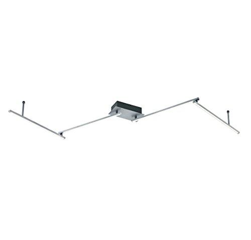 Arnsberg 871810405Highway LED 4-light調節可能な天井ライトでAlumカラー