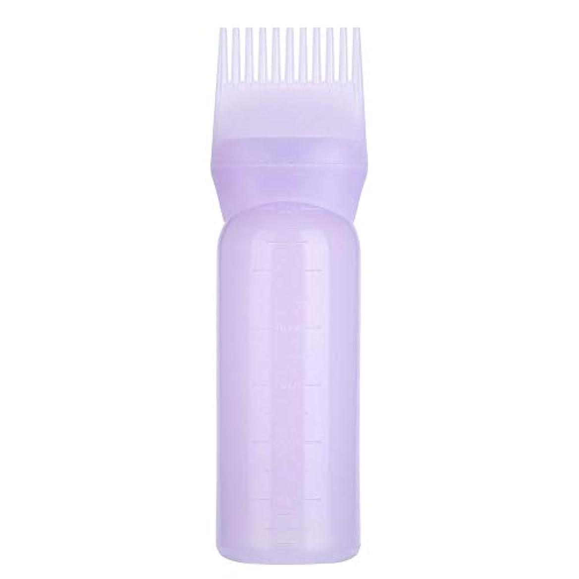 引き受ける秋寮3色 髪染めボトルブラシ 髪色オイル シャンプー くしアプリケーターツール(1)