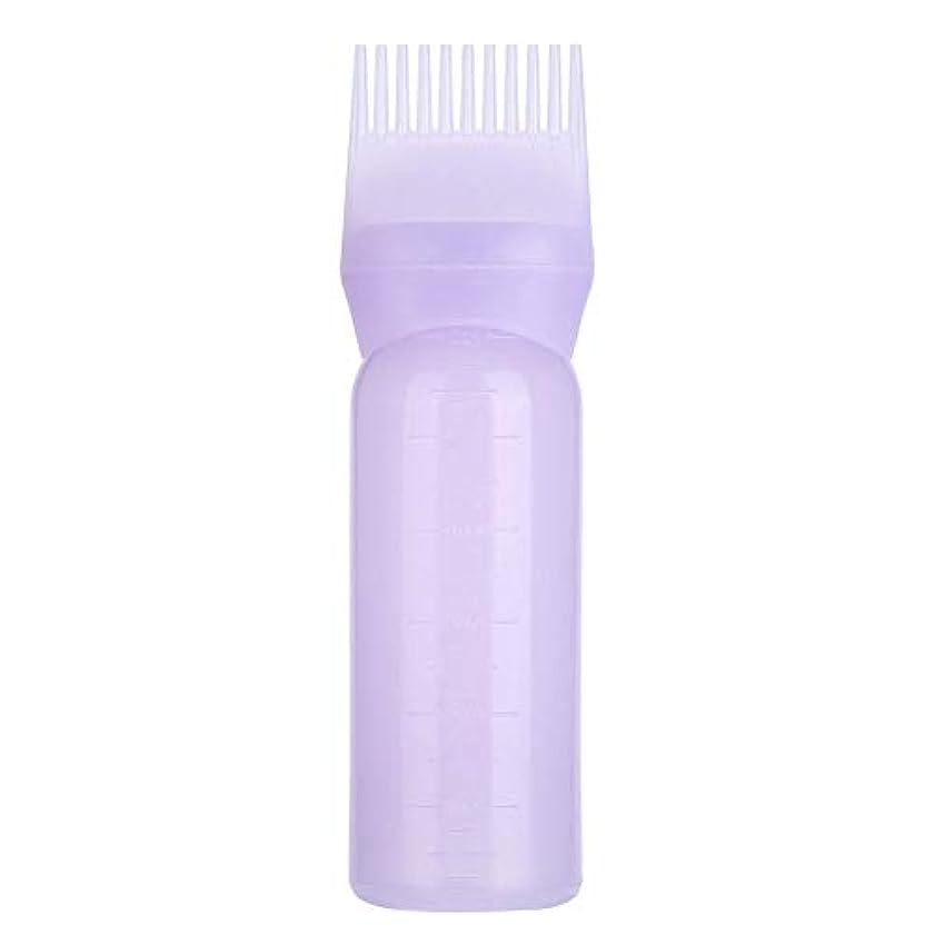 以降切手チャーター3色 髪染めボトルブラシ 髪色オイル シャンプー くしアプリケーターツール(1)