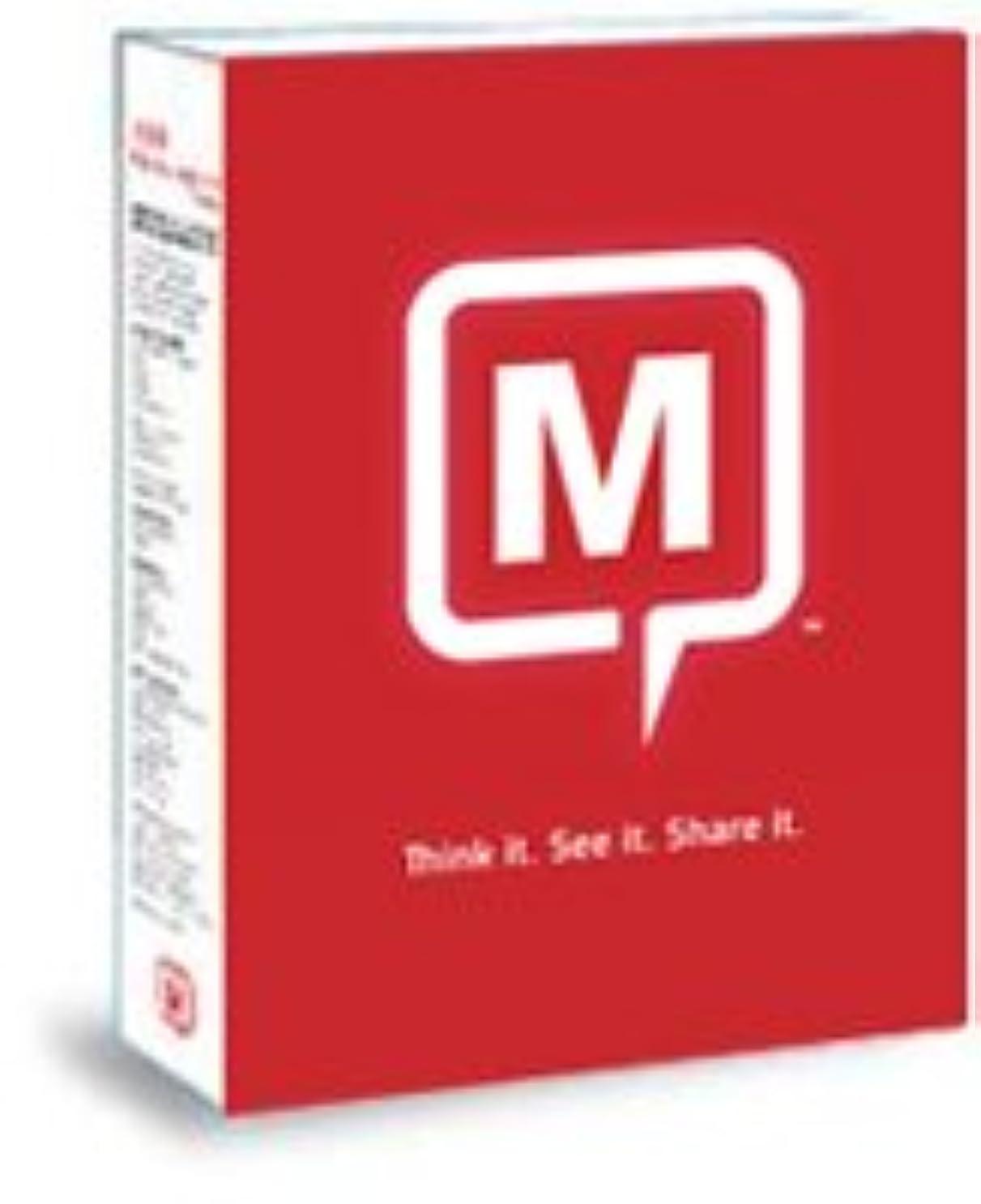 大混乱ほとんどの場合滴下Mindjet MindManager 8 Mac アカデミック アップグレード版(Mindmanager アカデミック6 for Mac, 7 for Macからのアップグレード対象) 日本語版