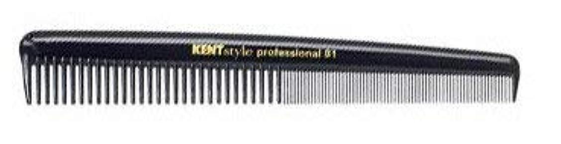 悪質なベジタリアン多くの危険がある状況Kent Coarse/Fine Shallow Toothed Cutting Comb [並行輸入品]