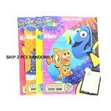 Disney Finding Dory & Nemo Colour And Play Colouring Activity Book- 2 Packs