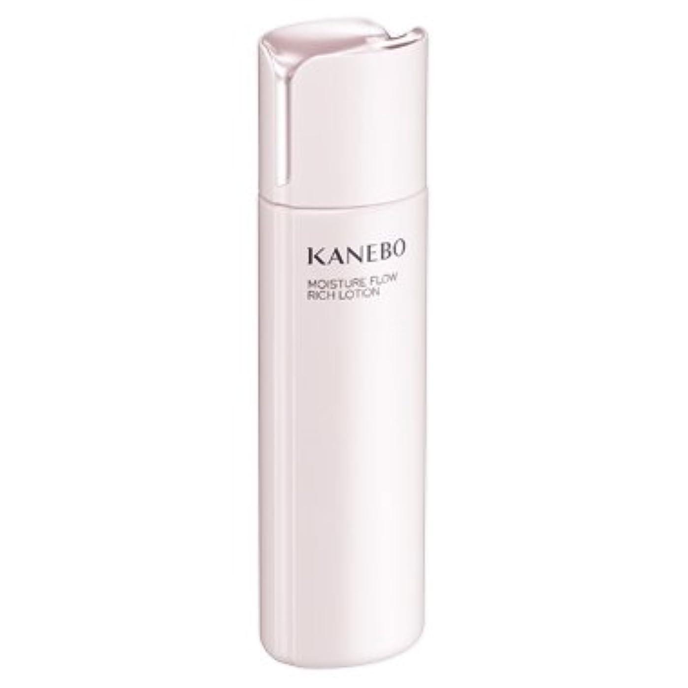 裁判所新しさ繁栄するカネボウ KANEBO 化粧水 モイスチャーフロウリッチローション 180ml