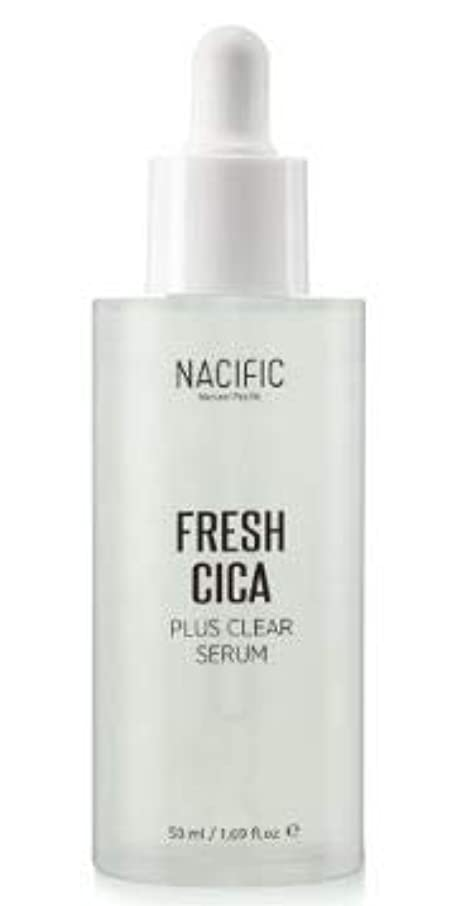 掘る怖い普通の[NACIFIC] Fresh Cica Plus Clear Serum/フレッシュシカプラスクリアセラム [並行輸入品]