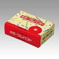 (まとめ買い) ホリアキ ハートインゴムバンド#16 100g 赤 #16 100G アカ 【×5】