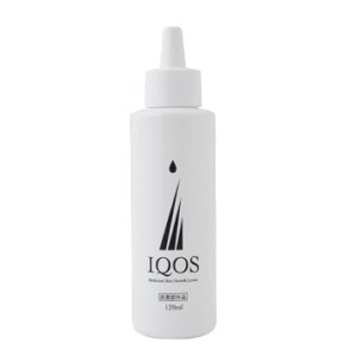 ずっと代表して登録するM-034を最大級配合 薬用育毛剤 IQOS イクオス 120ml