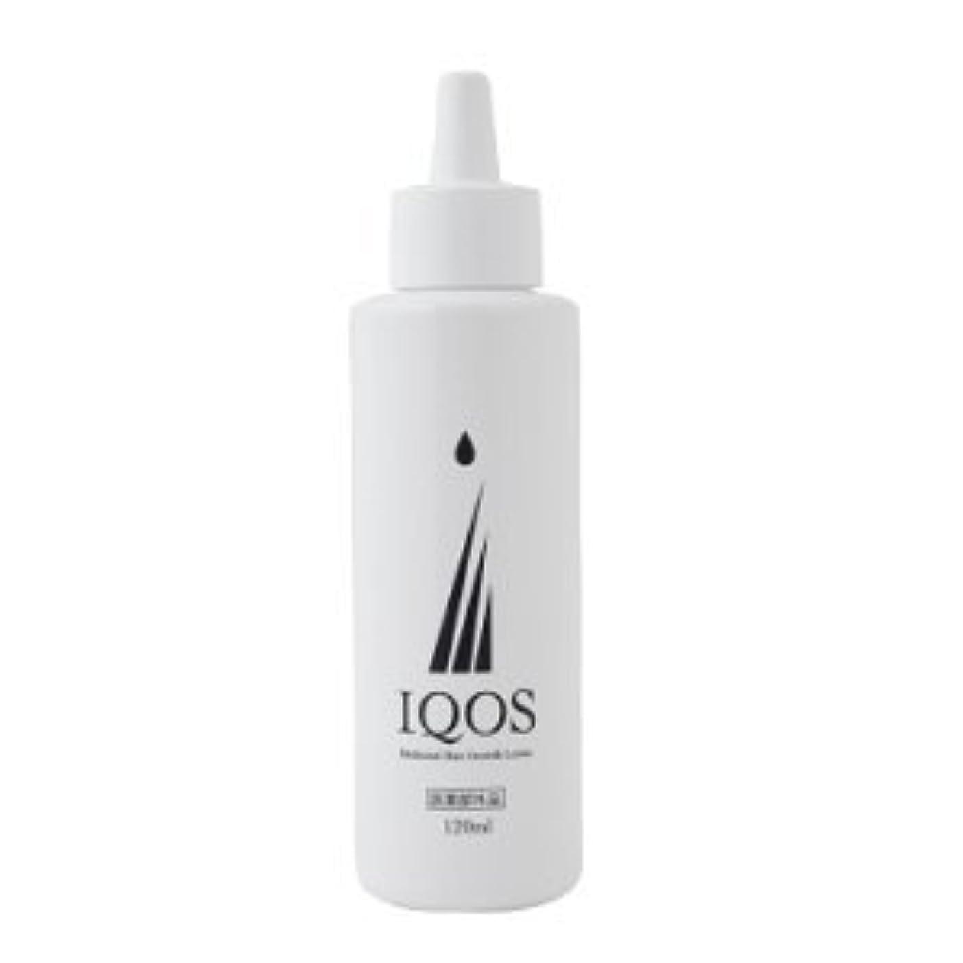 もう一度外交問題命題M-034を最大級配合 薬用育毛剤 IQOS イクオス 120ml