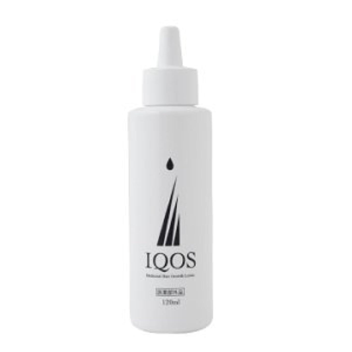 回転する援助大惨事M-034を最大級配合 薬用育毛剤 IQOS イクオス 120ml