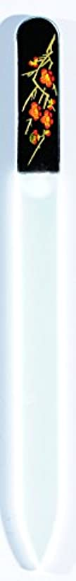 書士代わって素晴らしさ橋本漆芸 ブラジェク製高級爪ヤスリ 二月 梅 OPP