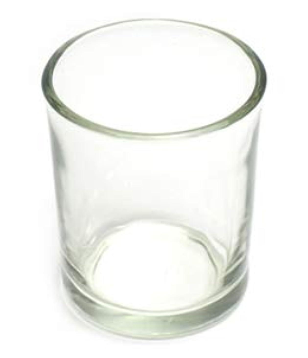 飼料上がるローラーキャンドルホルダー ガラス シンプル[小] 192個【キャンドルスタンド 透明 クリア おしゃれ ろうそく立て】