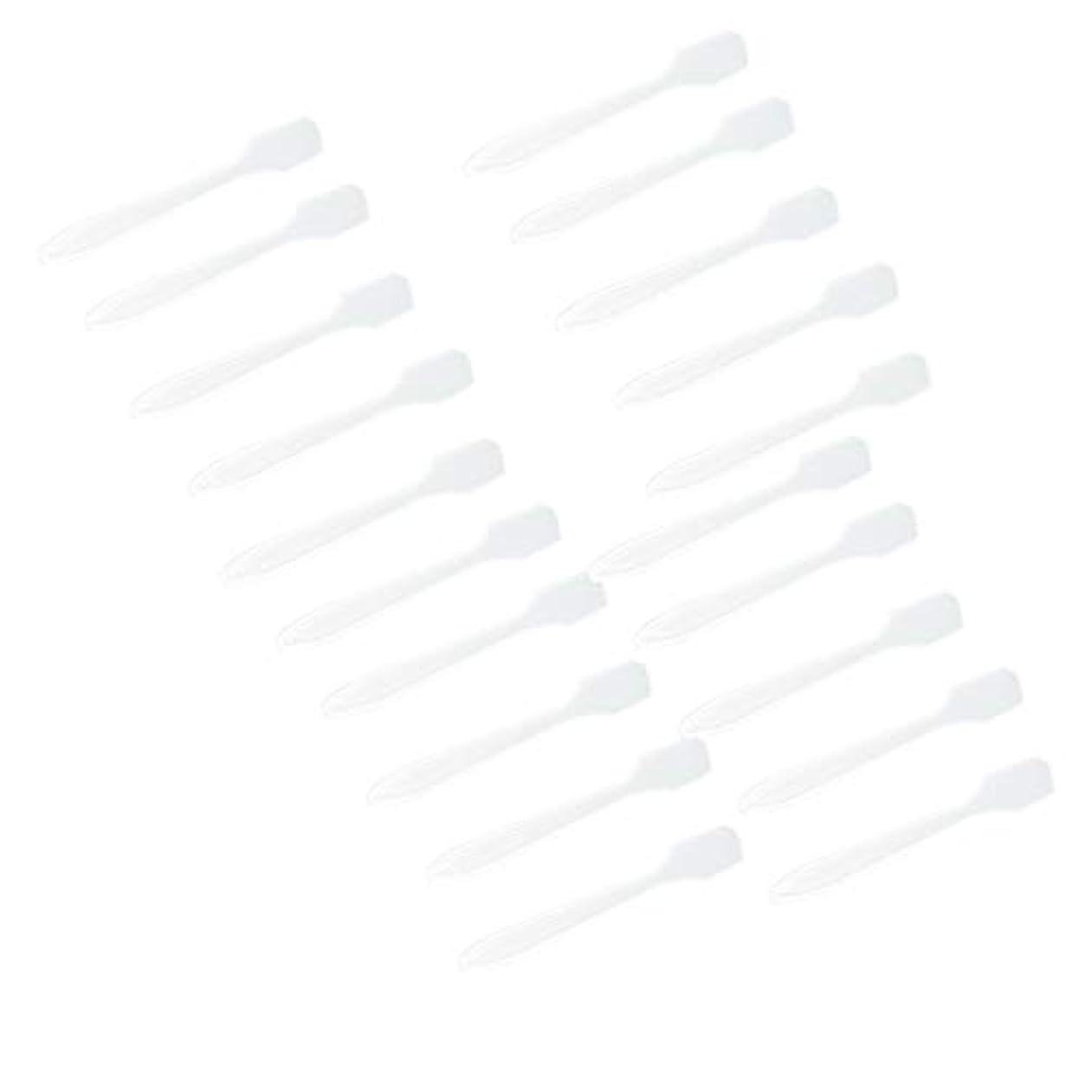 ベーコン新鮮なバックアップSM SunniMix 5カラー選ぶ 化粧品へら スプーン フェイシャル クリーム マスクスプーン 美容パックツール 全100点 - クリア
