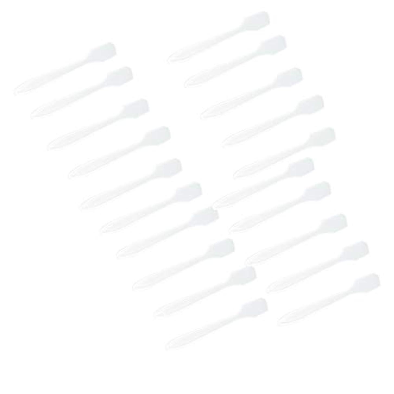 感謝祭リール北SM SunniMix 5カラー選ぶ 化粧品へら スプーン フェイシャル クリーム マスクスプーン 美容パックツール 全100点 - クリア