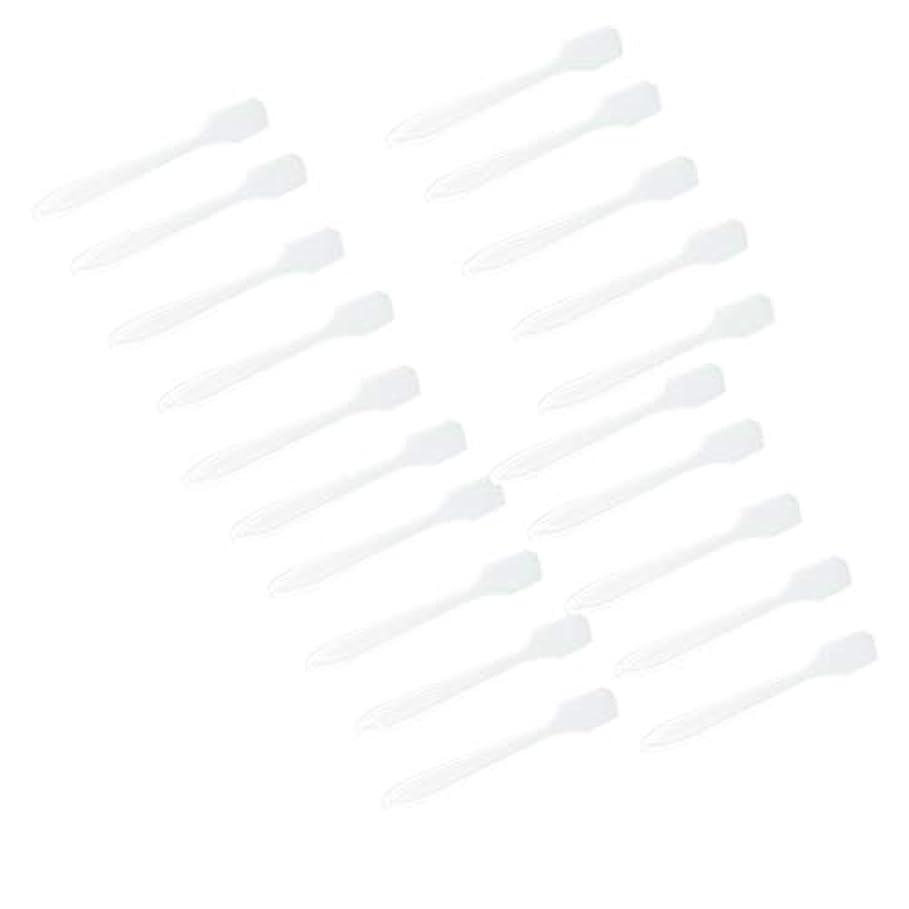 不正直見て砦SM SunniMix 5カラー選ぶ 化粧品へら スプーン フェイシャル クリーム マスクスプーン 美容パックツール 全100点 - クリア