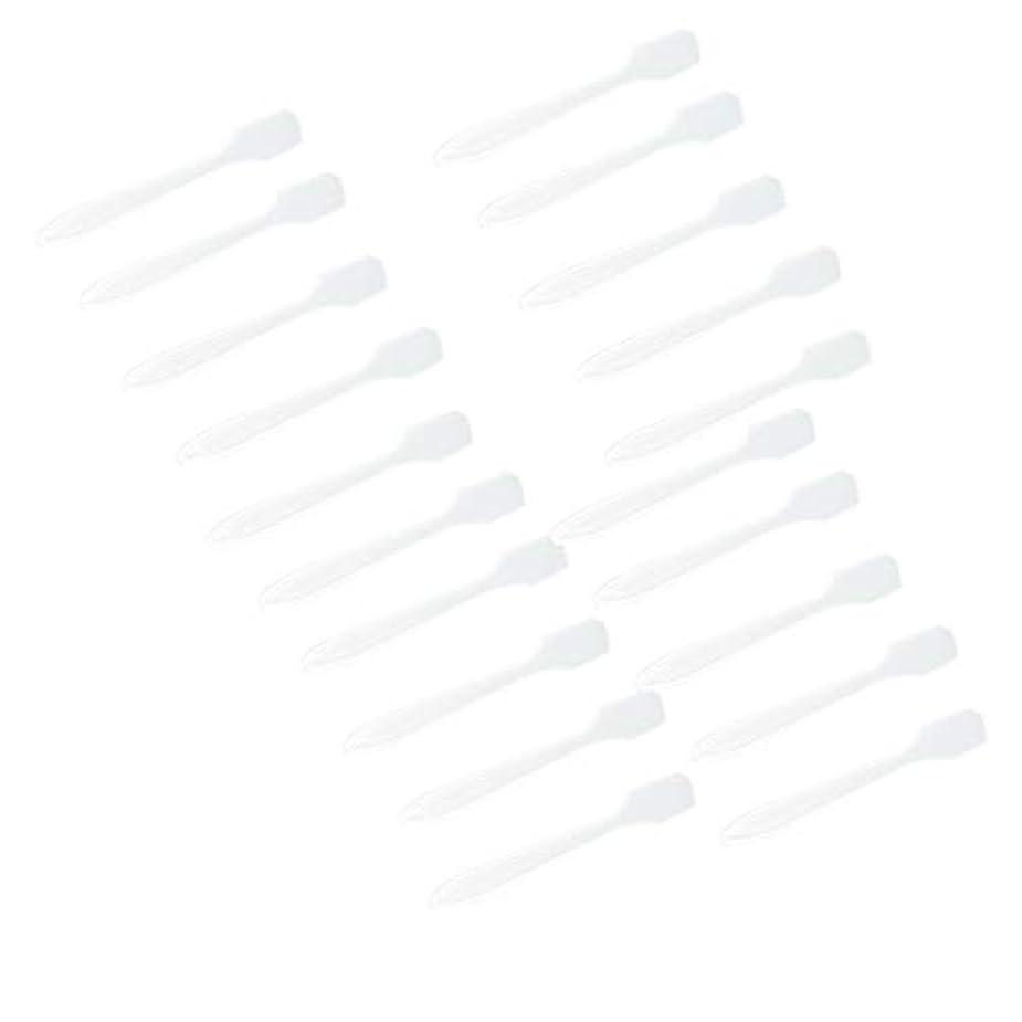 お母さんアドバイスバンクSM SunniMix 5カラー選ぶ 化粧品へら スプーン フェイシャル クリーム マスクスプーン 美容パックツール 全100点 - クリア