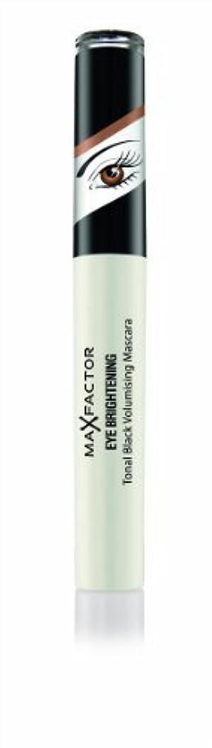 セクタ砂保安Max Factor Eye Brightening Tonal Schwarz Prachtauffüller Mascara 7.2 ml (schwarz Perlen, braun Augen) von Unbekannt