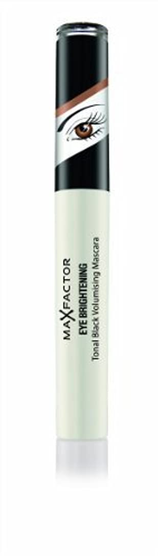緩やかな困惑忘れられないMax Factor Eye Brightening Tonal Schwarz Prachtauffüller Mascara 7.2 ml (schwarz Perlen, braun Augen) von Unbekannt
