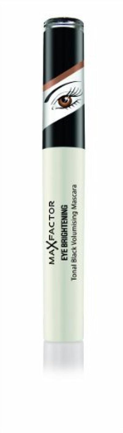 トランザクションイタリック不変Max Factor Eye Brightening Tonal Schwarz Prachtauffüller Mascara 7.2 ml (schwarz Perlen, braun Augen) von Unbekannt