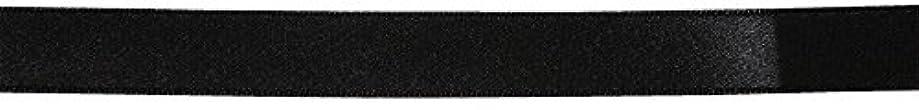 計算過言耐久ベルアート サテンリボン 片面 10mm巾 30m巻 Col.72 黒 BEL-5009