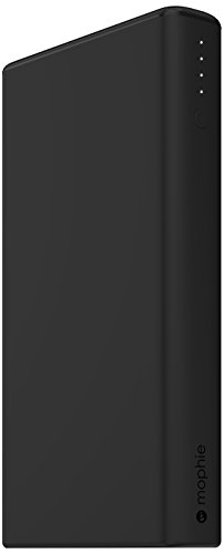mophie power boost XXL v2 (超大容量 20800mAh USB×2ポート 急速充電対応 モバイルバッテリー) 最大4.2A出力 iPhoneAndroid対応 ブラック 正規代理店品 MOP-BY-000159
