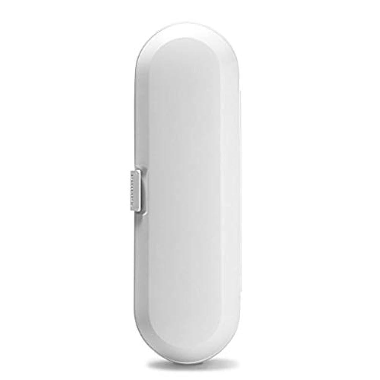 厚い蒸腫瘍Philips Sonicare Flexcare & Healthy White Plastic Travel Case by Philips [並行輸入品]